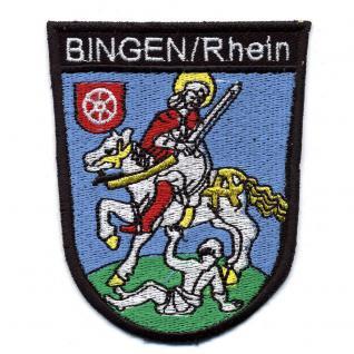 Aufnaeher Applikation Patch 8 x 10 cm Wappen Eltville 02914