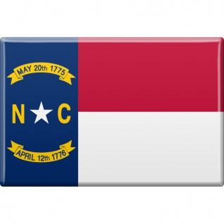 Magnet - US-Bundesstaat North Carolina - Gr. ca. 8 x 5, 5 cm - 37133/1 - Küchenmagnet