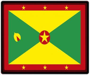 Mousepad Mauspad mit Motiv - Grenada Fahne Fußball Fußballschuhe - 82055 - Gr. ca. 24 x 20 cm