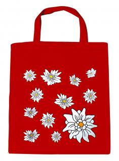 (08800-rot) Umweltfreundliche Baumwoll - Tasche , ca. 28 x 43 cm mit Aufdruck