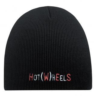 Beanie-Mütze mit Einstickung - HOT WHEELS - Strickmütze - 54529 schwarz