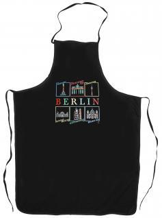 (10690-Schürze) Grillschürze ? Berlin?