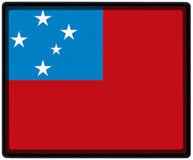 Mousepad Mauspad mit Motiv - Samoa Fahne - 82141 - Gr. ca. 24 x 20 cm