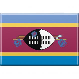 Kühlschrankmagnet - Länderflagge Swasiland - Gr.ca. 8x5, 5 cm - 37833