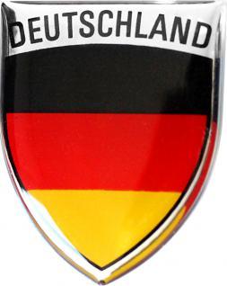 3D-EPOXY Aufkleber - Deutschland - 303801-1 - Gr.ca. 2, 5 x 3, 1 cm - - Vorschau