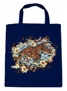 (U10973)Umweltfreundliche Baumwoll - Tasche , ca. 28 x 43 cm mit Aufdruck in 7 Farben Navy