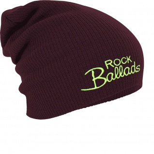 Longbeanie Slouch-Beanie Wintermütze Rock Ballads 55154
