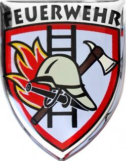PVC Aufkleber - Feuerwehr - 307724/1 - Gr. ca. 2, 5 x 3 cm -