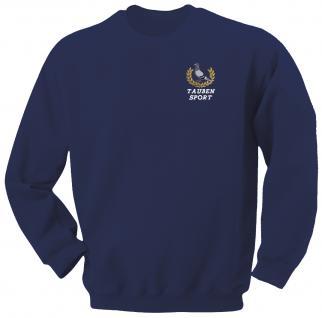 """(TB300) Sweat- Shirt mit Einstickung """" Tauben"""" XL"""