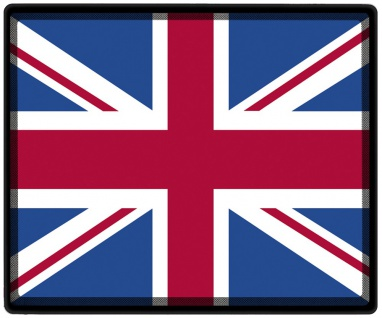 Mousepad Mauspad mit Motiv - Großbritannien Fahne - 82057 - Gr. ca. 24 x 20 cm