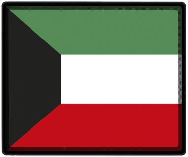 Mousepad Mauspad mit Motiv - Kuwait Fahne Fußball Fußballschuhe - 82089 - Gr. ca. 24 x 20 cm