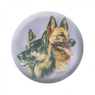 TIERMAGNET - Hund Schäferhund - Kollektion Bötzel - Gr. ca. 5, 7 cm - 16191 - Küchenmagnet