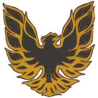 Aufnäher - Adler groß - 08022 - Gr. ca. 27 x 26 cm - Patches Stick Applikation