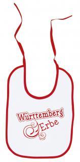 Baby - Lätzchen - Württemberg Erbe - 08442 - weiss