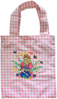 Baumwolltasche für Kinder mit Stickmotiv - PRINZESSIN - 12353 - Tasche Kindergartentasche