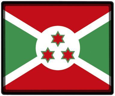Mousepad Mauspad mit Motiv - Burundi Fahne Fußball Fußballschuhe - 82034 - Gr. ca. 24 x 20 cm