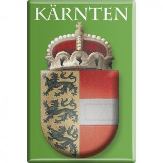 Kühlschrankmagnet - Wappen Kärnten - Gr. ca. 8 x 5, 5 cm - 38103 - Küchenmagnet