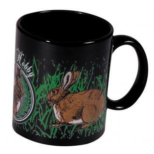 Tasse Kaffeebecher mit Print Kaninchen Hasen Mein Hobby 57499 - Vorschau 1