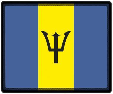 Mousepad Mauspad mit Motiv - Barbados Fahne Fußball Fußballschuhe - 82022 - Gr. ca. 24 x 20 cm