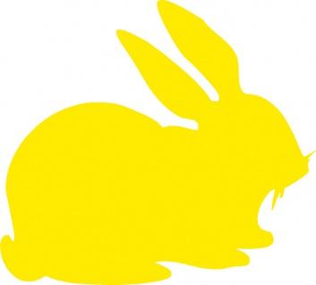 Aufkleber Applikation - Kaninchen - AP1232 - versch. Größen