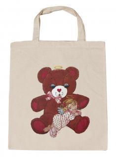 (08903/2-natur) Umweltfreundliche Baumwoll - Tasche , ca. 28 x 43 cm mit Aufdruck