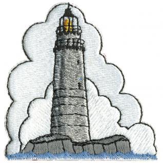 "Aufnäher Stick Emblem Abzeichen Patches Applikation Aufnäher Motivstick "" Leuchtturm"" NEU Gr. ca. 6cm x 6cm (04070)"