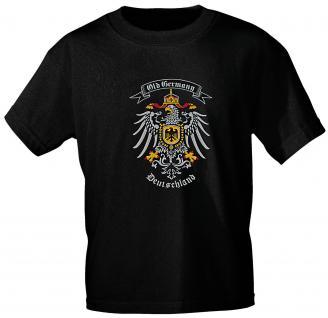 T-Shirt unisex mit Aufdruck - OLD GERMANY DEUTSCHLAND - 09526 - Gr. S