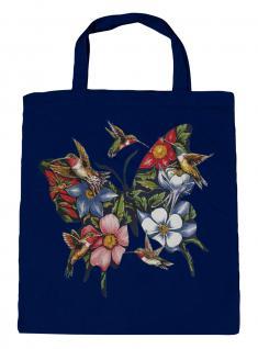 (U06993)Umweltfreundliche Baumwoll - Tasche , ca. 28 x 43 cm mit Aufdruck in 7 Farben Navy