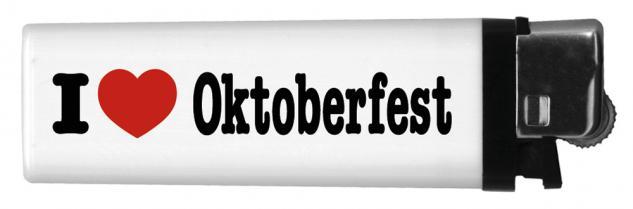 Feuerzeug Einwegfeuerzeug - I like Oktoberfest - 01158
