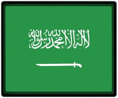 Mousepad Mauspad mit Motiv - Saudi Arabien Fahne - 82143 - Gr. ca. 24 x 20 cm