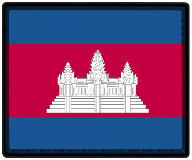 Mousepad Mauspad mit Motiv - Kambodscha Fahne Fußball Fußballschuhe - 82075 - Gr. ca. 24 x 20 cm