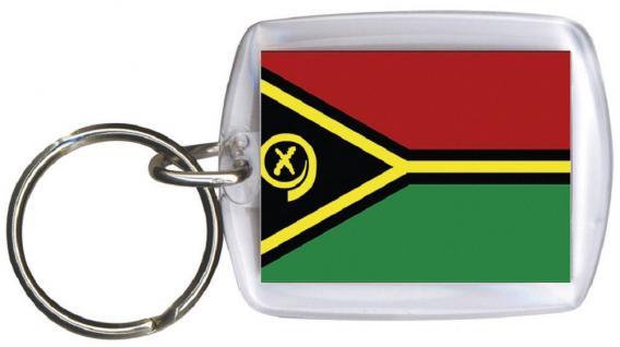 Schlüsselanhänger Anhänger - VANUATU - Gr. ca. 4x5cm - 81182 - Keyholder WM Länder