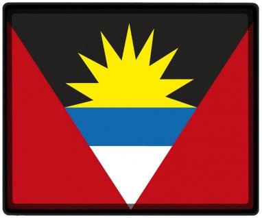Mousepad Mauspad mit Motiv - Antigua + Barbuda Fahne - 82011 - Gr. ca. 24 x 20 cm