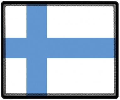 Mousepad Mauspad mit Motiv - Finnland Fahne - 82050 - Gr. ca. 24 x 20 cm