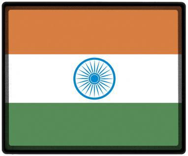 Mousepad Mauspad mit Motiv - Indien Fahne Fußball Fußballschuhe - 82064 - Gr. ca. 24 x 20 cm