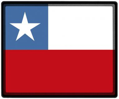 Mousepad Mauspad mit Motiv - Chile Fahne Fußball Fußballschuhe - 82036 - Gr. ca. 24 x 20 cm
