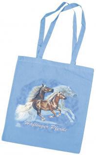 Baumwolltasche mit Pferdemotiv - Haflinger-ASTERIX - 08887 - Collection Bötzel