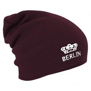 Longbeanie Slouch-Beanie Wintermütze Berlin Krone 55353