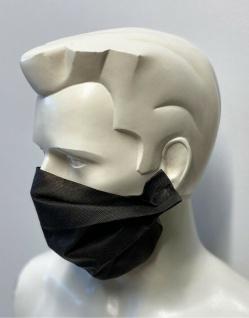 50x Behelfsmaske Gesichtsmaske mit wasserabweisenden Vliess - 15443