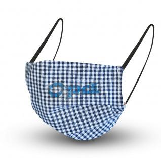 Baumwollmaske mit zertifiziertem Innenvlies - mit Aufdruck OPA - 15612 + Gratiszugabe