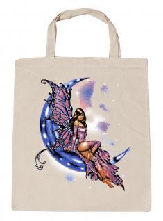 (U10899)Umweltfreundliche Baumwoll - Tasche , ca. 28 x 43 cm mit Aufdruck in 7 Farben