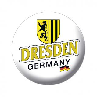 Magnetbutton - Dresden Germany Wappen - 16028 - Gr. ca. 5, 7 cm