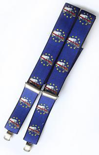 Hosenträger mit Print - Euro Truck - 06623 - blau