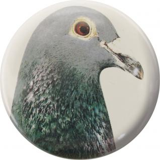 Küchenmagnet - Taube - Gr. ca. 5, 7 cm - 16206 - Magnet Kühlschrankmagnet