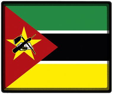 Mousepad Mauspad mit Motiv - Mosambik Fahne Fußball Fußballschuhe - 82113 - Gr. ca. 24 x 20 cm