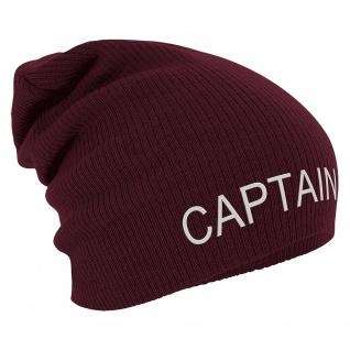 Longbeanie Slouch-Beanie Wintermütze Captain 55227