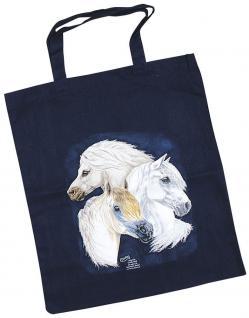 Baumwolltasche mit Pferdemotiv - WELSH Pony - 08867 - Bag Cotton