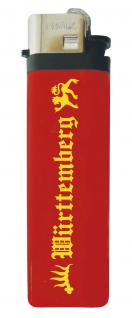 Einwegfeuerzeug Feuerzeug Anzünder - Württemberg - 01041 rot