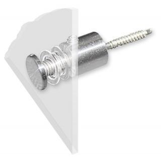 Befestigungs- Set für Acrylglas- Schilder (8tlg.) - 309703/1