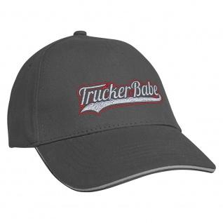 Baseballcap mit Einstickung Trucker Babe 69956